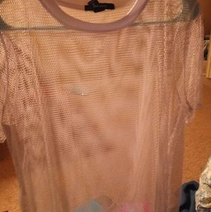 Fish net shirt